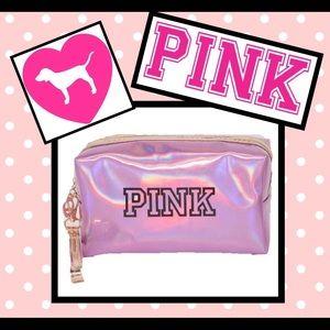 Pink VS makeup waterproof bag